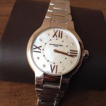 Relógio Suiço Feminino Raymond Weil Original Diamantes