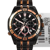 Relógio Casio Edifice Efr-534bkg Black Luz Efr-534 Original