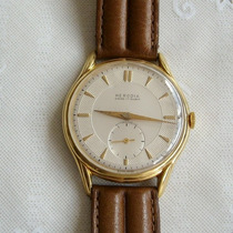Relógio De Pulso Masculino A Corda Herodia 17 Rubis - Raro!