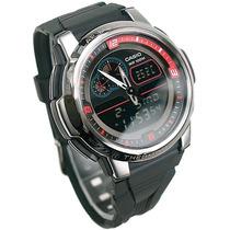 Relógio Casio Aqf 102 Termômetro Memoria Original Aqf102