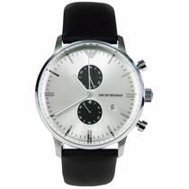 Relógio Emporio Armani Ar0385 Couro Frete Grátis Completo