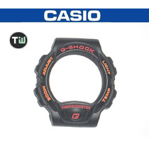 Capa Bezel Casio G-shock Dw-6100 Thermometer Série Ouro