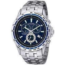 Relógio Citizen An7027-58l An7027 Pulso Cronograph Aço Prata