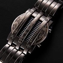 Relógio Matrix Metal Titanium. Muito Lindo E Diferente.