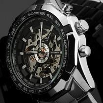 Relógio Importado Winner Skeleton Automático- Pronta Entrega