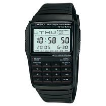 Relógio Casio Data Bank Calculadora Dbc-32-1adf Em 12x S/jur