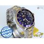 Invicta Automatico 8928ob Detalhes Ouro Original Lindo Azul