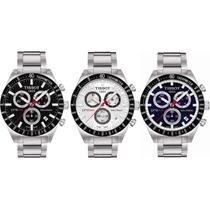 Relógio Tissot Prs516 - Azul, Preto Ou Branco Completo