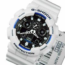 Relógio Ga-100b Ga-100 Ga100 Branco Alarme Cronômetro Timer