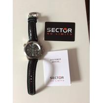 Relógio Sector Cronógrafo Modelo 26743 Oversize.