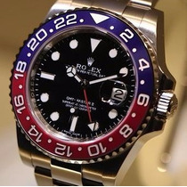 Relógio Automatico Gmt Master Il Red/blue Oyster Perpetual