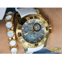Invicta Excursion Feminino 16099 Original - Banh Ouro 18k
