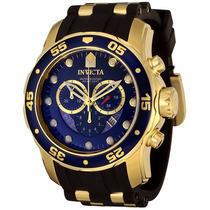 Relógio Invicta Pro Diver 6983 Dourado Masculino Completo