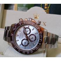 Relógio Eta Modelo Daytona Platinum Ice Blue - Eta Valjoux