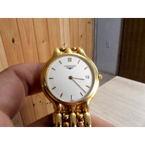 Relógio Longines Ouro 18k 750 Quartzo Intacto Barato