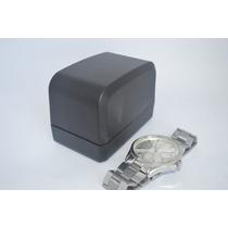 Relógio Casual Clássico Masculino Qualidade Visor Prata B33