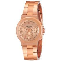Relógio Seculus Feminino Moda 24786lpsgrs3.