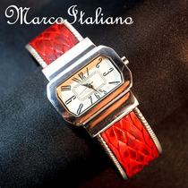 Relogio De Luxo Em Prata Maciça 925 - Maravilhoso Design !!!