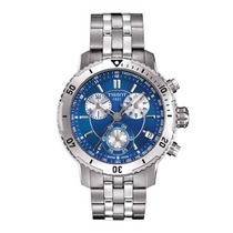 Relógio Tissot Prs200 T067.417.11.041.00 Azul Frete Grátis.