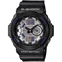 Relógio Casio G-shock Ga-150 Mf-8 W200 5 Alarmes H.mundial P