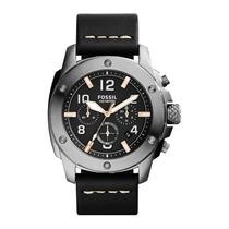 Relógio Masculino Fossil Machine Fs5016/0pn - Original