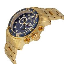 Relógio Invicta 0073 Ouro 18k Pro Drive Feminino