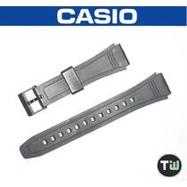 Pulseira Casio Db-36 Borracha Preta Similar Data Bank