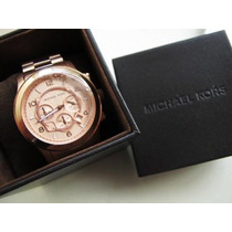 Michael Kors Rose Gold Dourado Mk8096
