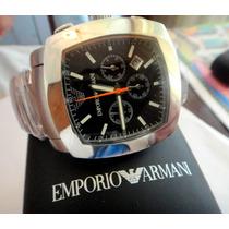 Maravilhoso Relógio Empório Armani Cronógrafo