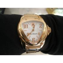 Relógio Lamborghini Aço E Ouro Rose