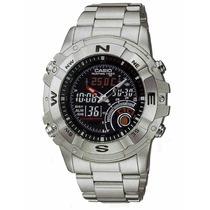 Relógio Casio Outgear Amw-705d Hunting Caça Pesca Termometro
