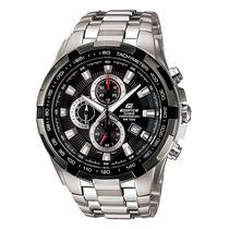 Relógio Casio Edifice Ef-539 D Cronógrafo Wr100 Tachymeter P