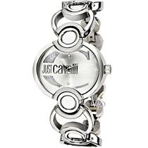 Relógio Feminino Just Cavalli Italy Prata Italiano Luxo Mk