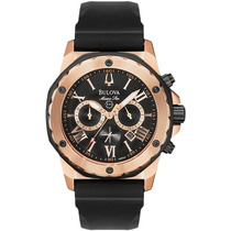 Relógio Luxo Bulova Marine Star 98b104 Chronograph Analógico