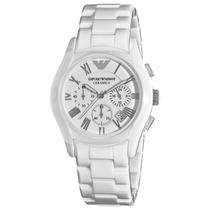 Relógio Emporio Armani Ar1403 Cerâmica Na Caixa Frete Grátis