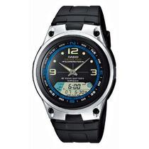 Relógio Casio Aw-82 Fishing Gear Pesca Fases Lua 3 Alarmes P