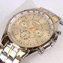 Relógio Analógico De Luxo 3 Cores Diferentes M/ Rosra