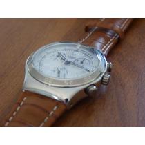 Relógio Swatch Irony Gangleader Ycs 457 - Raro