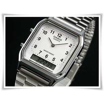 Relógio Casio Aq-230a-7bmq Anadigi Charmoso Elegante Fino