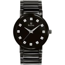Relógio De Luxo Bulova 98d001 Chronograph Analógico!!!