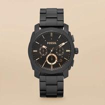 Relógio Fossil Machine Stainless Fs4682