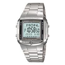 Relógio Casio Db-360 Prateado Retro Databank 30 Tel 5 Alar.