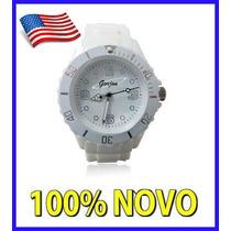 Relógio Ice Branco Champion Swatch Promoção Envio Em 24hs