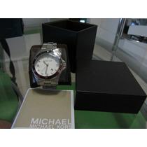 Relógio E Carteira Michael Kors Masculino (aço Inoxidável)