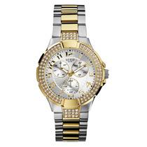 Relógio Guess Prata/dourado - W16563l1 - Original