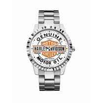 Relógio Bulova Harley Davidson 76a129