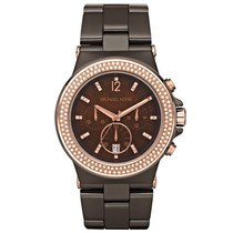Relógio De Luxo Michael Kors Mk5518 Chronograph Cerâmico!!!