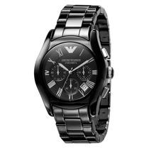 Relógio Emporio Armani Ar1400 Cerâmica Preto Pronta Entrega.