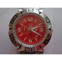 Relógio Luxo Ferrari Cronos Funcionais Excelente Qualidade