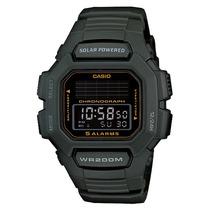 Relógio Casio Hdd-s100-3avdf Tough Solar 5 Alarmes Wr-200m V